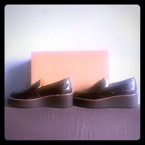 Anthropologie // Ilana Platform Loafers in Black
